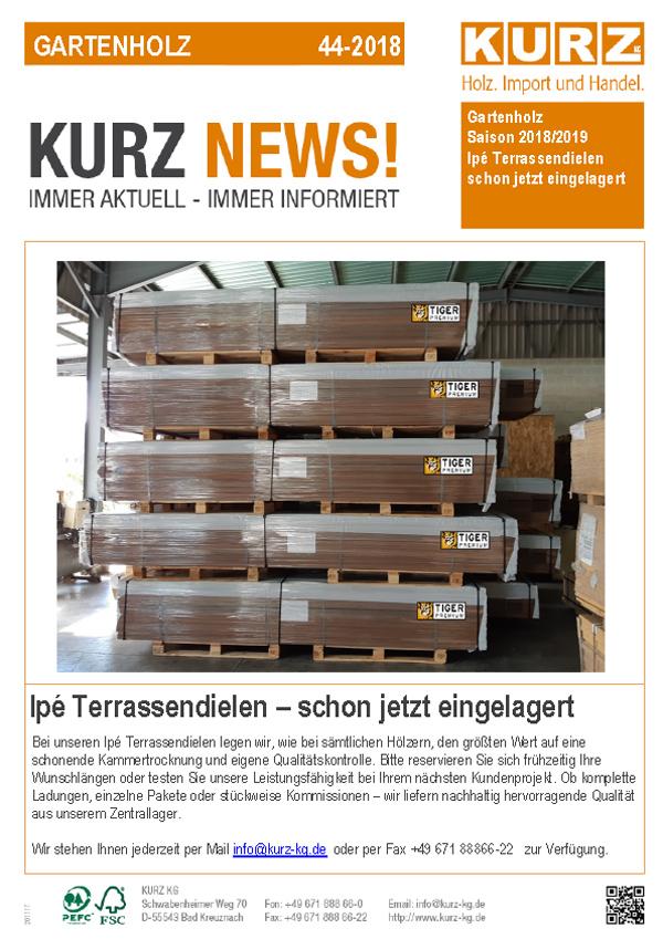Kurz News Gartenholz 44 2018